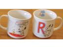 SNOOPY Snoopy ★ initial mug R