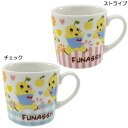 There is a two-handled-Funabashi, non-sanctioned local yuru Chara beech! and-toy mugs-mug