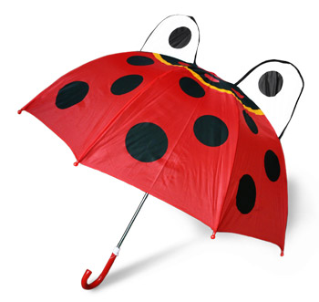 动物瓢虫儿童伞