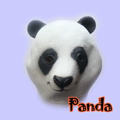 动物口罩大熊猫口罩面具瞄准方面化装グッズウケ,并且口罩/动物/动物