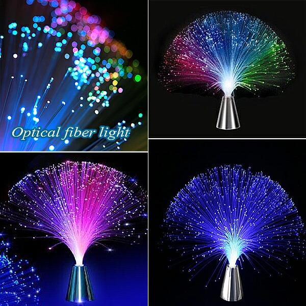 【楽天市場】光る ファイバーライト インテリアにピッタリ Led ファイバーツリー Fiber Optic