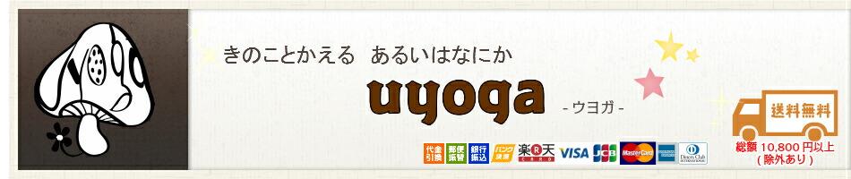 uyoga -ウヨガ-:uyoga-ウヨガ-はきのこやカエルモチーフの雑貨やアクセサリーのお店です