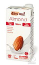 1,000 ml of straight types of the nut milk EcoMil (eco-mil) almond milk straight (brick) glucide no addition