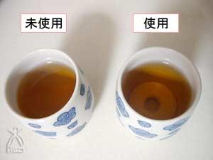 天才シェフ:麦茶に入れてみました