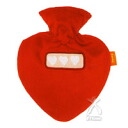 Heart-shaped hot-water bottle three heart