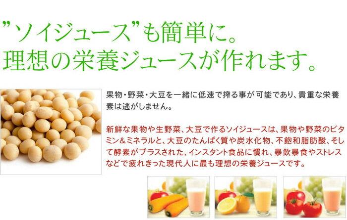 HUROMブレンドストリーム ソイジュースも簡単に!理想の栄養ジュースが作れます