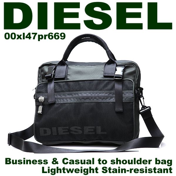 In DIESEL shoulder bag business bag! Bag casual diesel men bag 00XL47 which ...