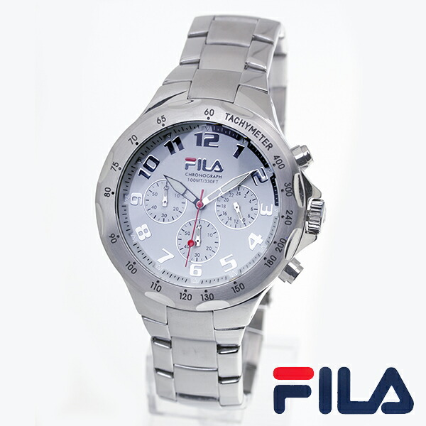 E mix rakuten global market fila fila mens analog watches men 39 s watch fa0795 33 for Fila watches