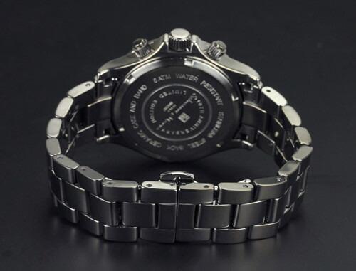 腕時計 メンズ クロノグラフ 腕時計 サルバトーレマーラ SalvatoreMarra 10周年記念モデル腕時計sm12117-gyr