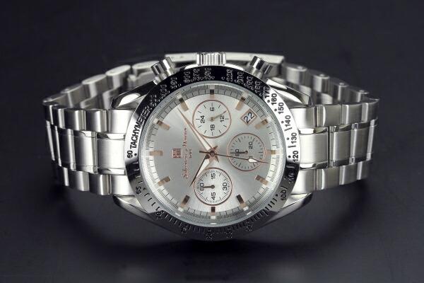 腕時計 メンズ 人気 ブランド Salvatore Marra SM12135-SSSVPG
