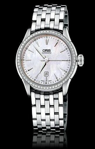 ORIS/オリスカルチャーOrisArtelierデイトダイヤモンド6176044956-0781673