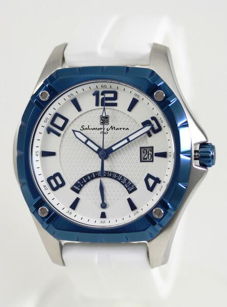 サルバトーレ・マーラ メンズ腕時計 SM10109-WHBL Salvatore Marra