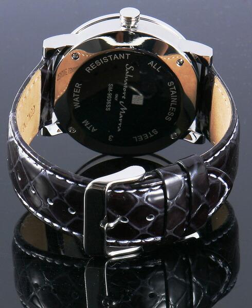 サルバトーレ・マーラ メンズ腕時計 SM9036-SSBK Salvatore Marra