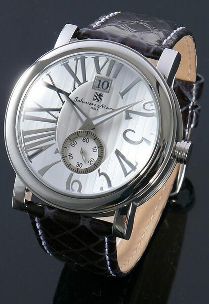 サルバトーレ・マーラ メンズ腕時計 SM9036-SSWH Salvatore Marra