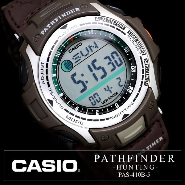 E mix rakuten global market casio men 39 s watch for Casio pathfinder fishing watch