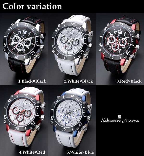 腕時計 メンズ 男性用腕時計 サルバトーレマーラ メンズ sm11132