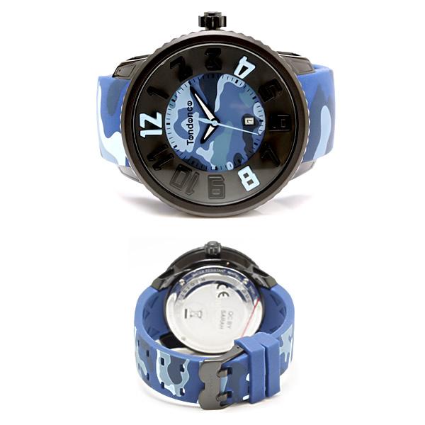 Tendence テンデンス メンズ 腕時計 ラウンドガリバー カモフラージュ T0430029