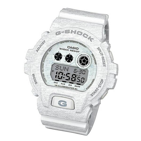 CASIO【カシオ G-Shock ヘザード・カラー・シリーズ GDX-6900HT-7 腕時計 ホワイト】【並行輸入品】