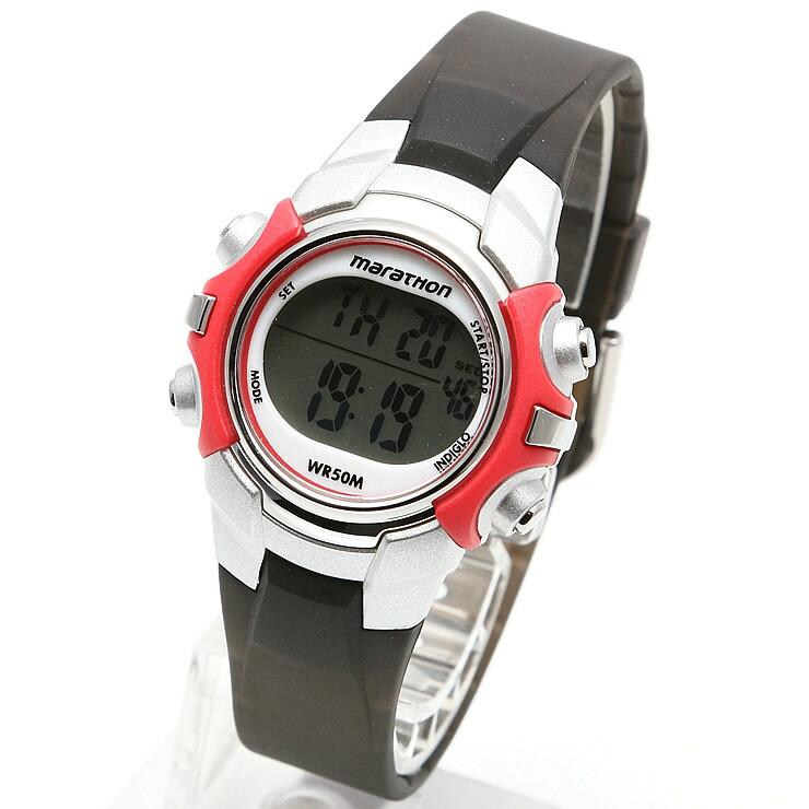 TIMEX タイメックス 腕時計 T5K807 MARATHON / マラソン ミリタリーウォッチ メンズ レディース 時計 デジタル ミリタリー カジュアル マラソン ランニングウォッチ ウォーキング インディグロナイトライト搭載