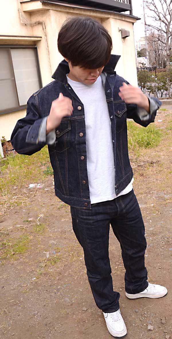 メンズ 【SUGAR CANE】【シュガーケーン】14.25oz Gジャン(デニムジャケット)DENIM JACKET SC11962A の画像7