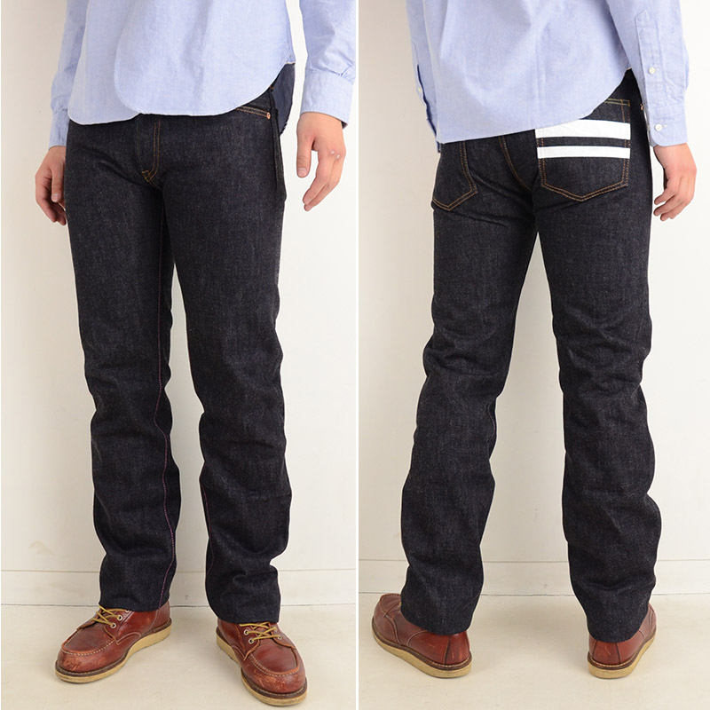 men Momotaro jeans Momotaro jeans MOMOTARO JEANS 0705SP[ay] 日本製特濃 indigo denim taking the field roller is tight fit straight jeans  <br> <br><br><br><br><br> <a href=
