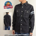 Momotaro jeans Momotaro jeans MOMOTARO JEANS SJ091D taking the field denim work shirt