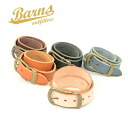 BARNS OUTFITTERS Barnes Outfitters BR-4273 オイルウォッシュド leather belt men's jeans and a recommend! (Accessory / brand gadgets / belts / men's / fall / autumn clothes / store / Rakuten) fs3gm10P18Oct13