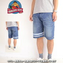Momotaro jeans Momotaro jeans MOMOTARO JEANS 3103SPAW[ay]10oz オーバーダイセルヴィッチ taking the field slim short pants