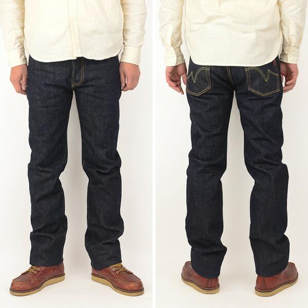 メンズ IRON HEART アイアンハート 666S-21[a5]Indigo 21oz Selvedge Slim Cut Jeans 21oz セルビッチスリムストレートデニム ワンウォッシュ の画像6
