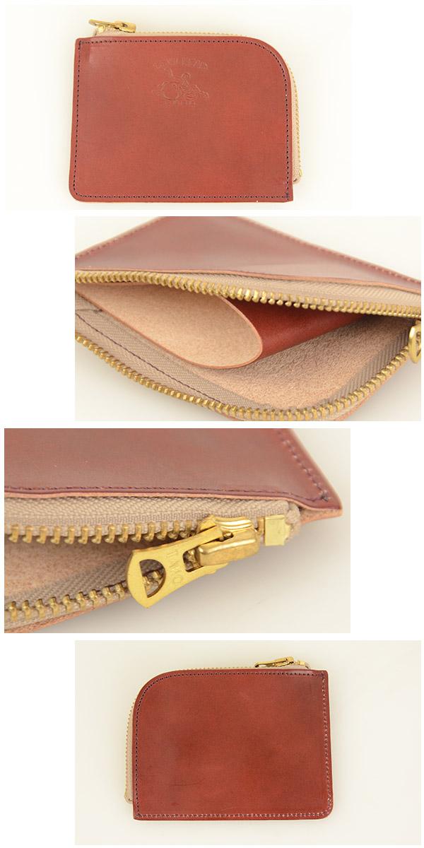 メンズ 革蛸 DEVIL HEAD デビルヘッド K-2 L字ファスナーコインケース[ay]財布 ワレット ウォレット 昭南皮革 イタリアンレザーのような日本の革 の画像  5