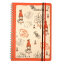 "Ring note A5 ◎ syndicate, little Red Riding Hood""☆ ShinziKatoh stationery store ☆ Bell common-"