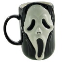 "Mug (made of earthenware) ◎ holler mask, scream-esque""☆ surface white goods (dishwashing) store ☆ / Bell common-"