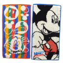 Class two pieces of pocket towels / antibacterial deodorization processing ◎ mickey mouse 《 pop taste 》☆ disney kindergarten goods mail order☆●