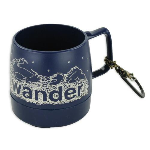 and wander DINEX printed mug navy