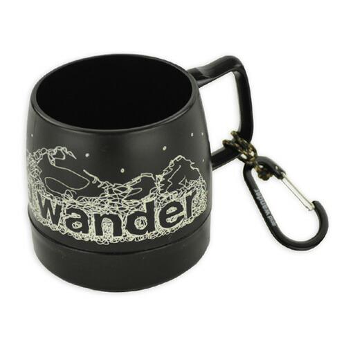 and wander DINEX printed mug black