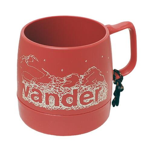 and wander DINEX printed mug mauve