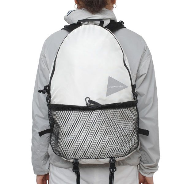 and wander 20L backpack white