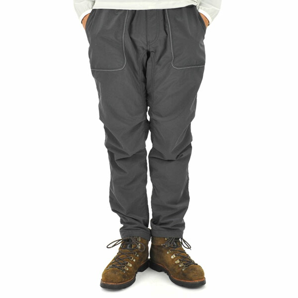 and wander nylon climbing pants charcoal