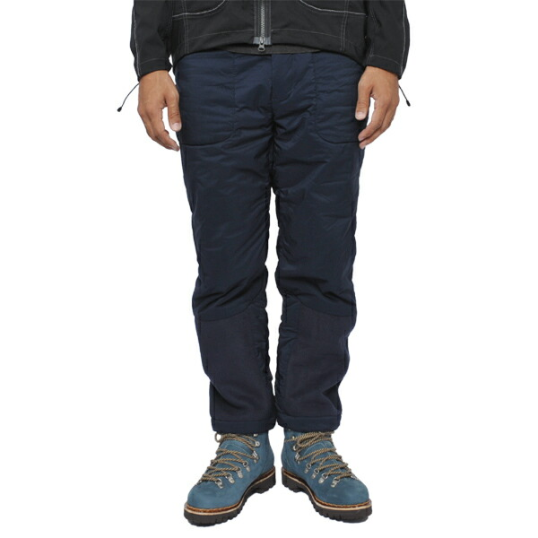 and wander twill fleece pants navy