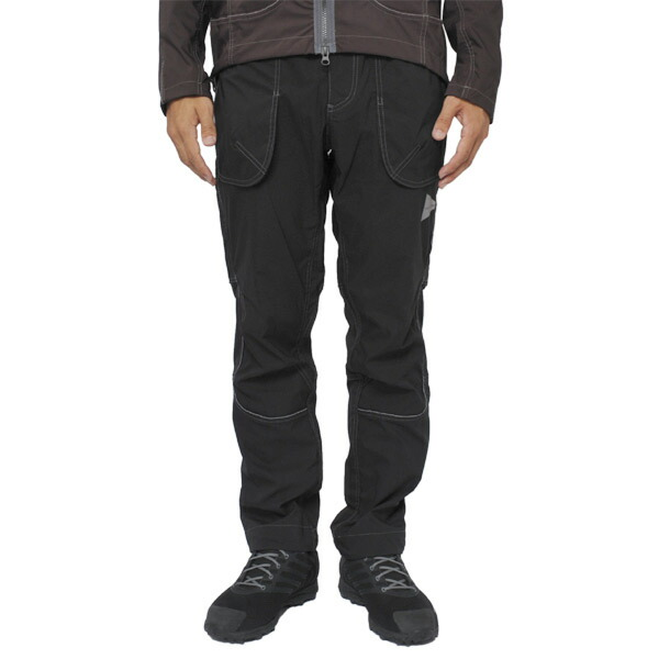 and wander Mens dry touch stretch pants black