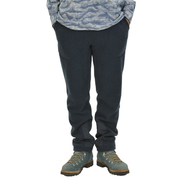 and wander fleece pants navy