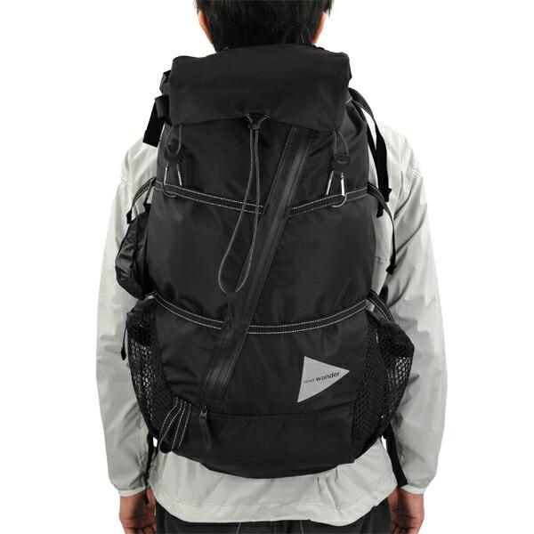 and wander 40L backpack black