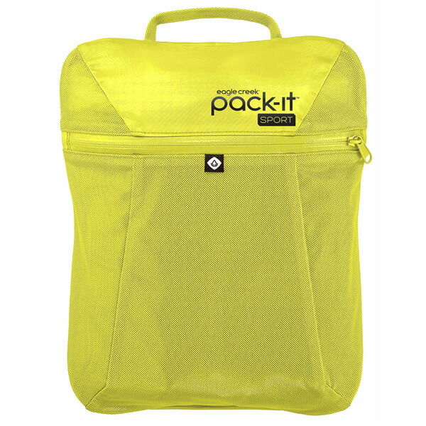 EagleCreek Pack-It Sports Wet Dry Fitness Locker StrobeYellow