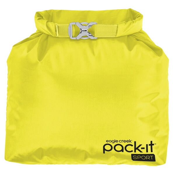 EagleCreek Pack-It Sports Roll Top Sac StrobeYellow