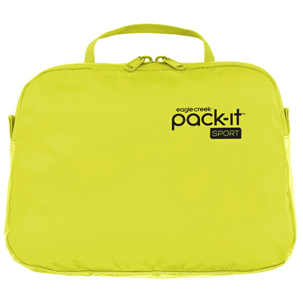 EagleCreek Pack-It Sports Wet Zip Pouch StrobeYellow