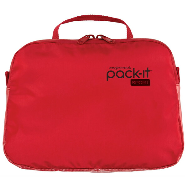 EagleCreek Pack-It Sports Wet Zip Pouch Ruby