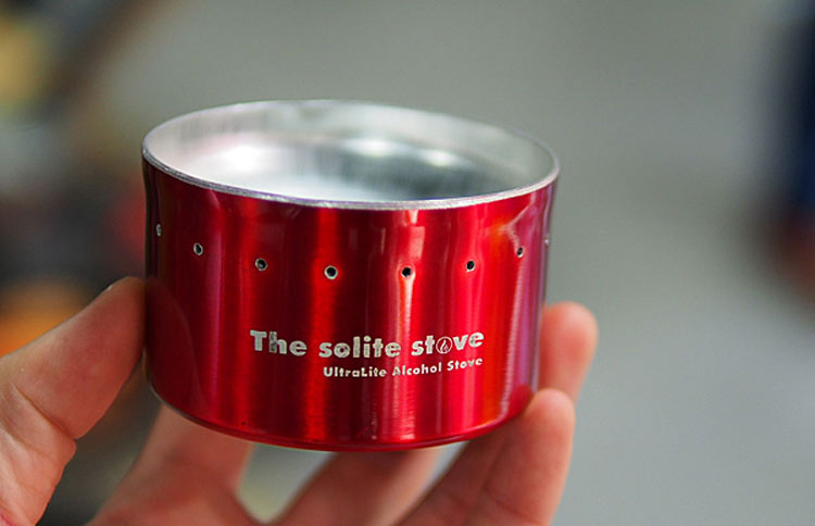 The solite stove / ソーライトストーブ
