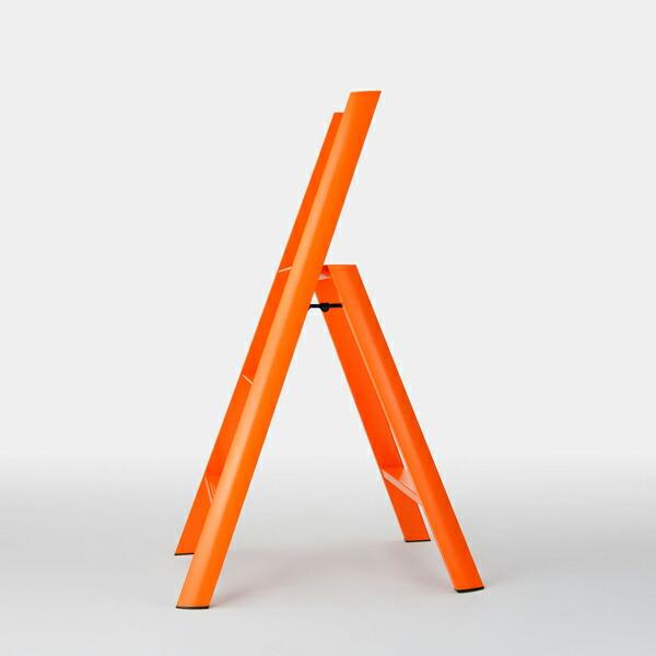 ルカーノ 脚立 おしゃれ 2段 3段 4段 折りたたみ metaphis メタフィス lucano アルミ 洗車 木製
