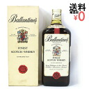 760 ml of 古酒特級従価 Ballantine phi nest Ballantine's フィネスト treasuring hands are difficult! Red flag