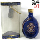 Dimple ceramics blue Limoges Dimple750ml/43%